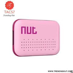 Nut 3 Smart key Finder Mini Itag Bluetooth Tracker Anti Lost Reminder Finder Wallet Phone Finder For iphone Samsung Smart Phone Pink