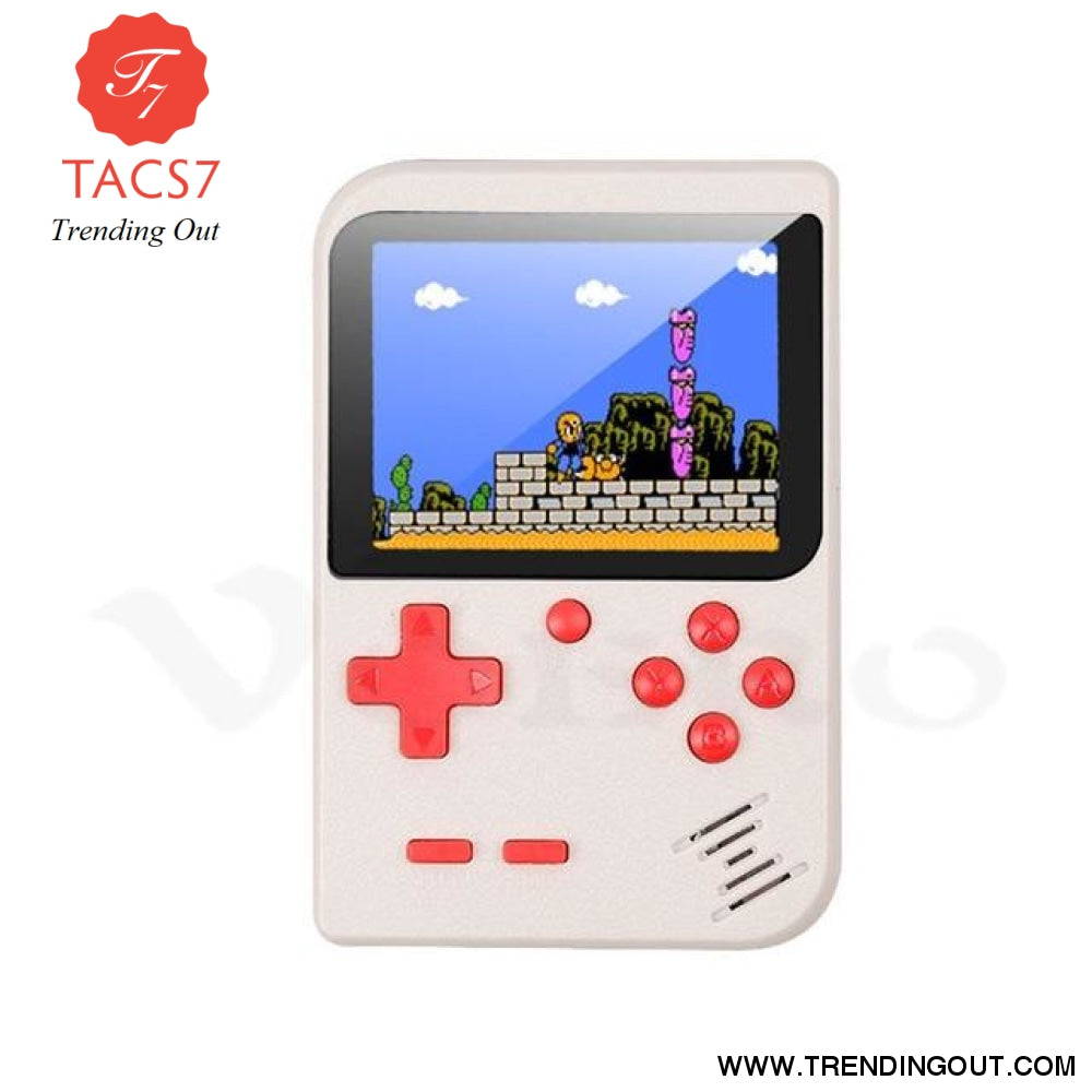 RS-6 A Retro Portable Mini Handheld Game Console White