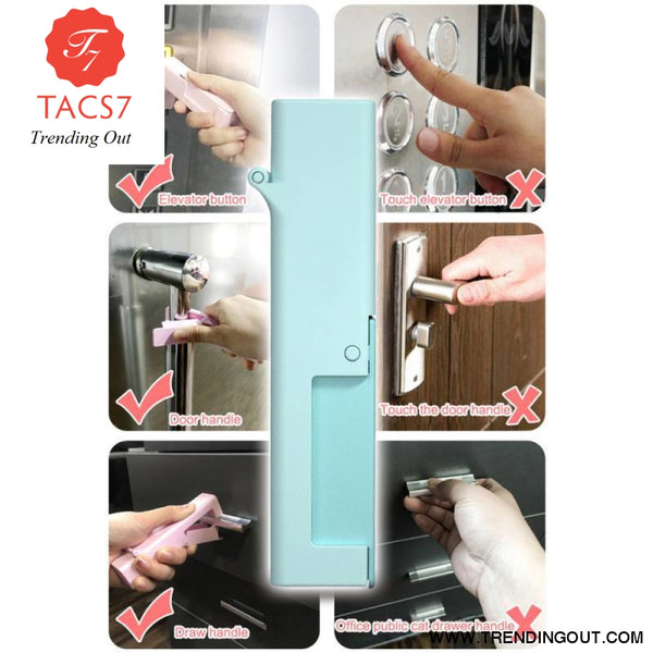 Small Artifact Disinfection Door Opening Tool Reusable Door Opener Toy Epidemic Products Gloves instead Personal Care Anti-virus