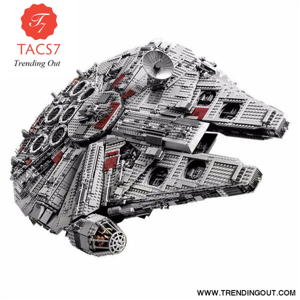 Star Series War 5265Pcs Ultimate Collector's Millennium Toys Falcon Model Building Kit Blocks Bricks Set