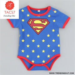 Summer Newborn Baby Girl Clothes Cartoon Baby Boy Rompers Spiderman Batman Unisex Baby Rompers Cartoon Animal Clothing Set Short superman /