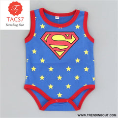 Summer Newborn Baby Girl Clothes Cartoon Baby Boy Rompers Spiderman Batman Unisex Baby Rompers Cartoon Animal Clothing Set Sleeveless