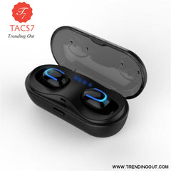 SYLLABLE HBQ-Q13S TWS Bluetooth V5.0 Earphones True Wireless Stereo Earbuds Bluetooth Headset for Phone SYLLABLE HBQ-Q13S Black