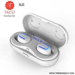 SYLLABLE HBQ-Q13S TWS Bluetooth V5.0 Earphones True Wireless Stereo Earbuds Bluetooth Headset for Phone SYLLABLE HBQ-Q13S White