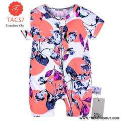 Toddler Baby Kids Girls Boys Clothes O neck Short Sleeve Romper Cotton Summer Newborn Jumpsuit one pieces SR424 002 / 6M