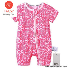 Toddler Baby Kids Girls Boys Clothes O neck Short Sleeve Romper Cotton Summer Newborn Jumpsuit one pieces SR424 007 / 6M