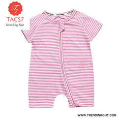 Toddler Baby Kids Girls Boys Clothes O neck Short Sleeve Romper Cotton Summer Newborn Jumpsuit one pieces SR424 011 / 6M