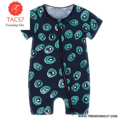 Toddler Baby Kids Girls Boys Clothes O neck Short Sleeve Romper Cotton Summer Newborn Jumpsuit one pieces SR424 013 / 6M