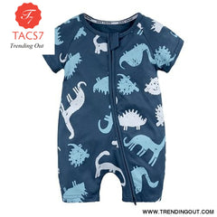 Toddler Baby Kids Girls Boys Clothes O neck Short Sleeve Romper Cotton Summer Newborn Jumpsuit one pieces SR424 015 / 6M
