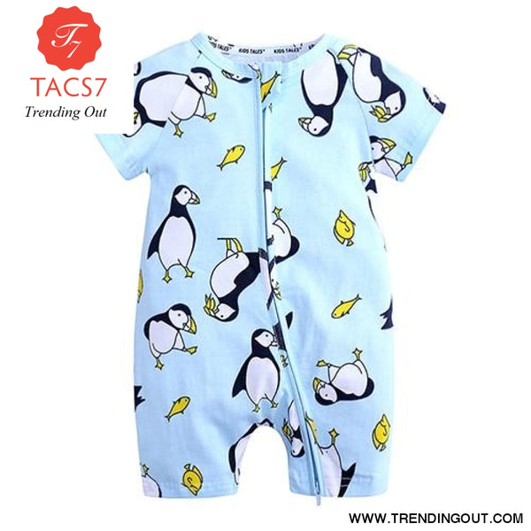 Toddler Baby Kids Girls Boys Clothes O neck Short Sleeve Romper Cotton Summer Newborn Jumpsuit one pieces SR424 017 / 6M
