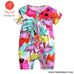 Toddler Baby Kids Girls Boys Clothes O neck Short Sleeve Romper Cotton Summer Newborn Jumpsuit one pieces SR424 018 / 6M