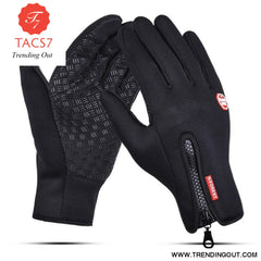 Touch Screen Gloves Black / XL