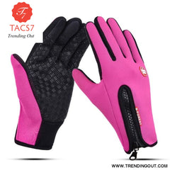 Touch Screen Gloves Rose / XL
