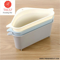 Triangle Shape Holder Multifunction Drain Shelf
