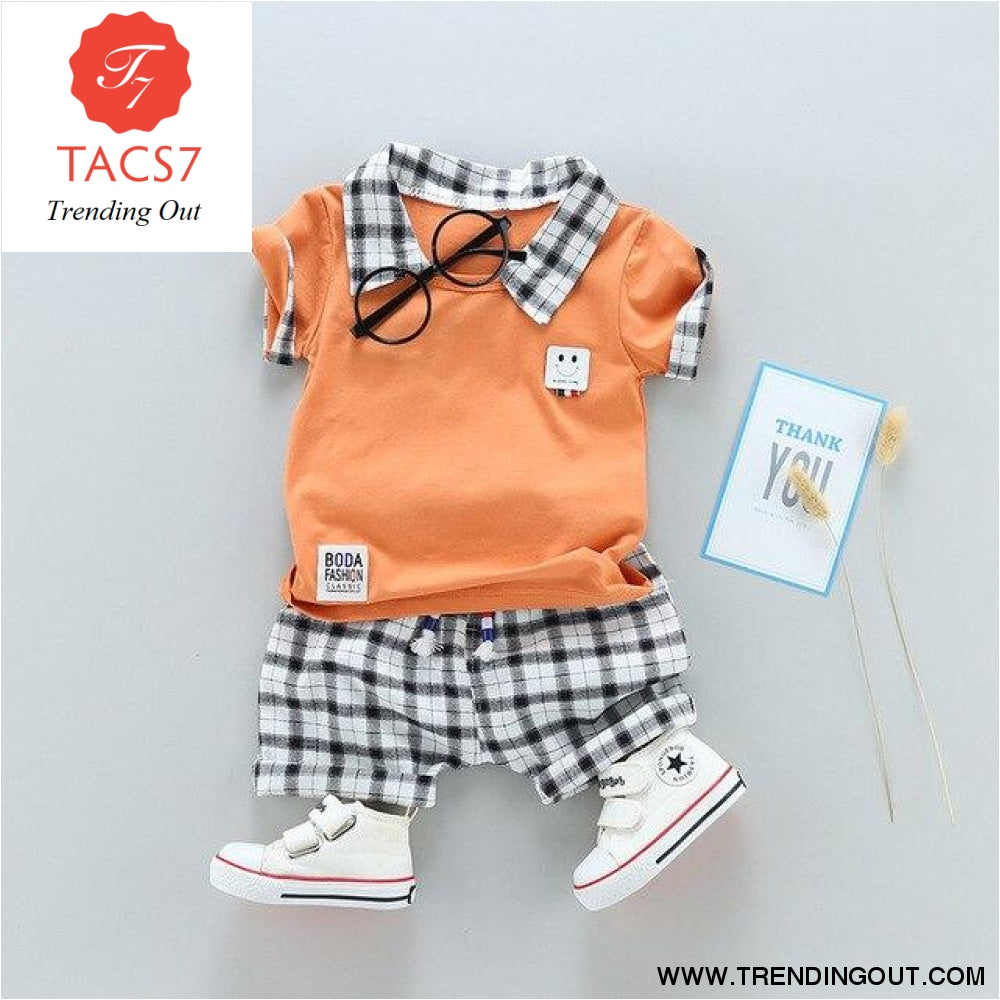 Two Childrens Clothing Boy Cotton Suit Gentleman Undertakes Small Childrens Clothing see chart / 2T