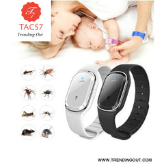 Ultrasonic Anti Mosquito Insect Pest Bugs Repellent Repeller Wrist Bracelet