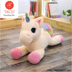 Unicorn Stuffed Animals Soft Plush Doll Cartoon Unicorn Animal Horse Birthday Gift Toys for children Kids 40cm / Pink