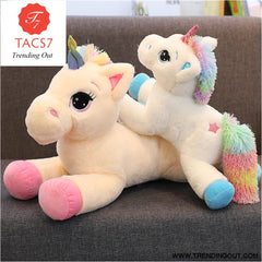 Unicorn Stuffed Animals Soft Plush Doll Cartoon Unicorn Animal Horse Birthday Gift Toys for children Kids