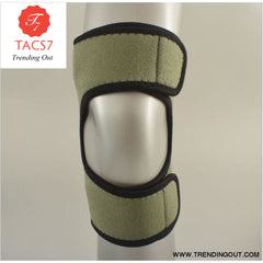 Upgraded version Breathable Non-slip power knee stabilizer pads Climbing body well spring Sport knee Green / 1 pcs