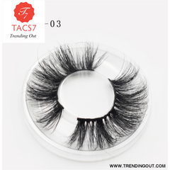 Visofree Eyelashes 3D Mink Lashes natural handmade volume soft lashes long eyelash extension real mink eyelash for makeup E01 E03