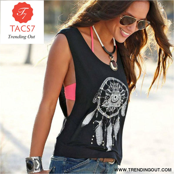 Women Tank Tops Short Vest