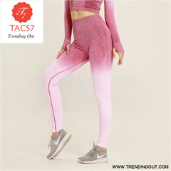 Yoga Set Gym Set Gym Leggings red pants / S