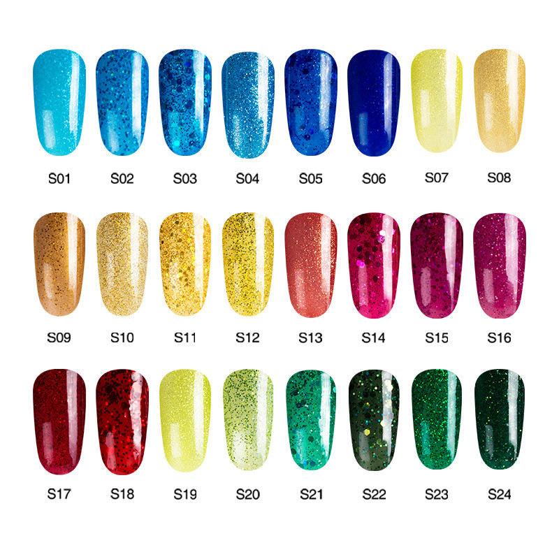 Color Uv Nail Gel Polish Diy Art Salon Varnishes Long Lasting Soak Off