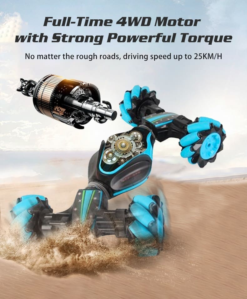 Remote Control Car Stunt Cars Toys for Boys Gesture Induction Twist Cars Machine on the Radio Electric Carros Drift RC Car