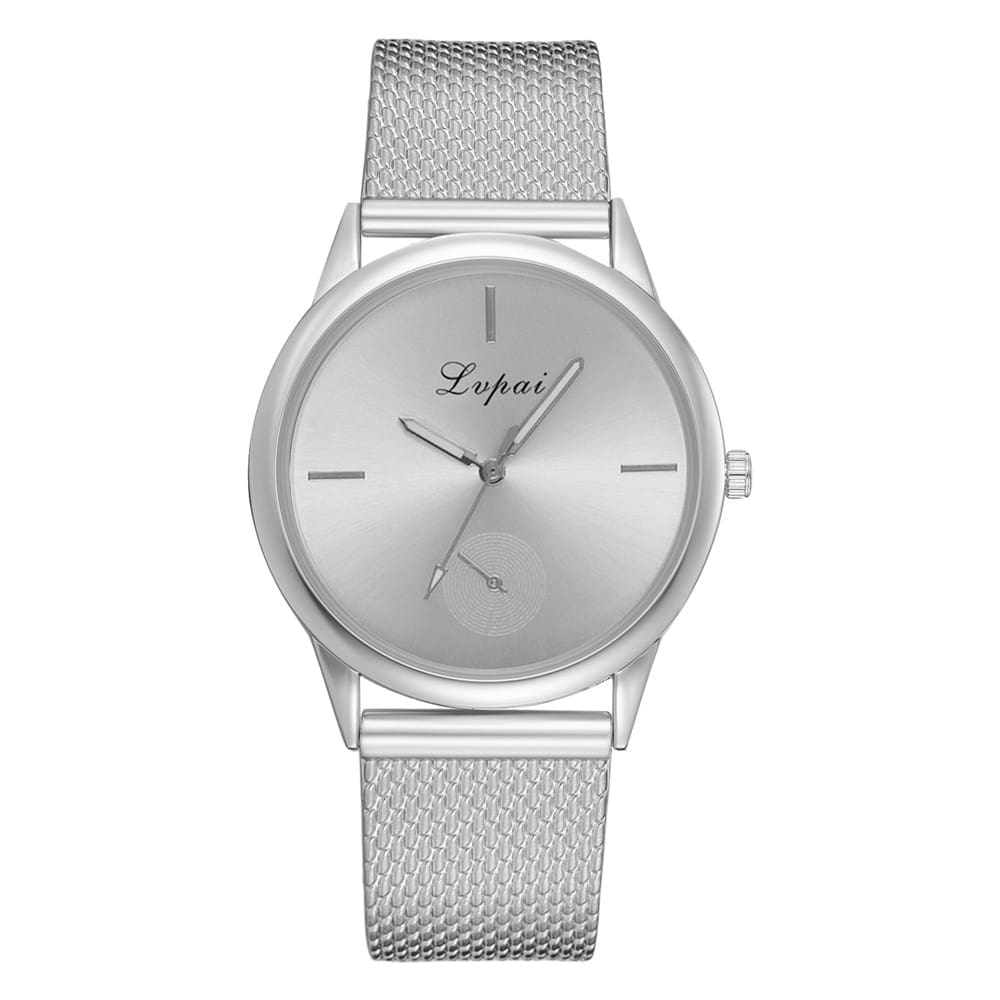 Lvpai Luxury Quartz Watch Womens Fashion Casual Quartz Silicone Strap Band Analog HOT Selling Rubber Wrist Watch