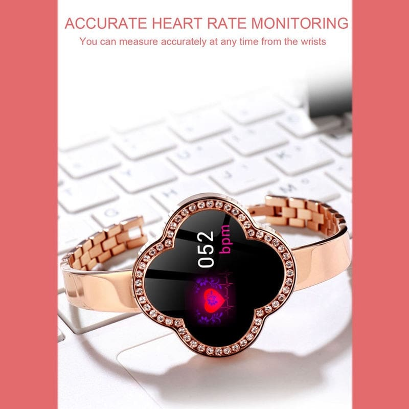 S6 Women Smart Wristband Waterproof Ip67 Smart Fitness Bracelet Heart Rate Blood Pressure Fitness Tracker Call Message Reminder