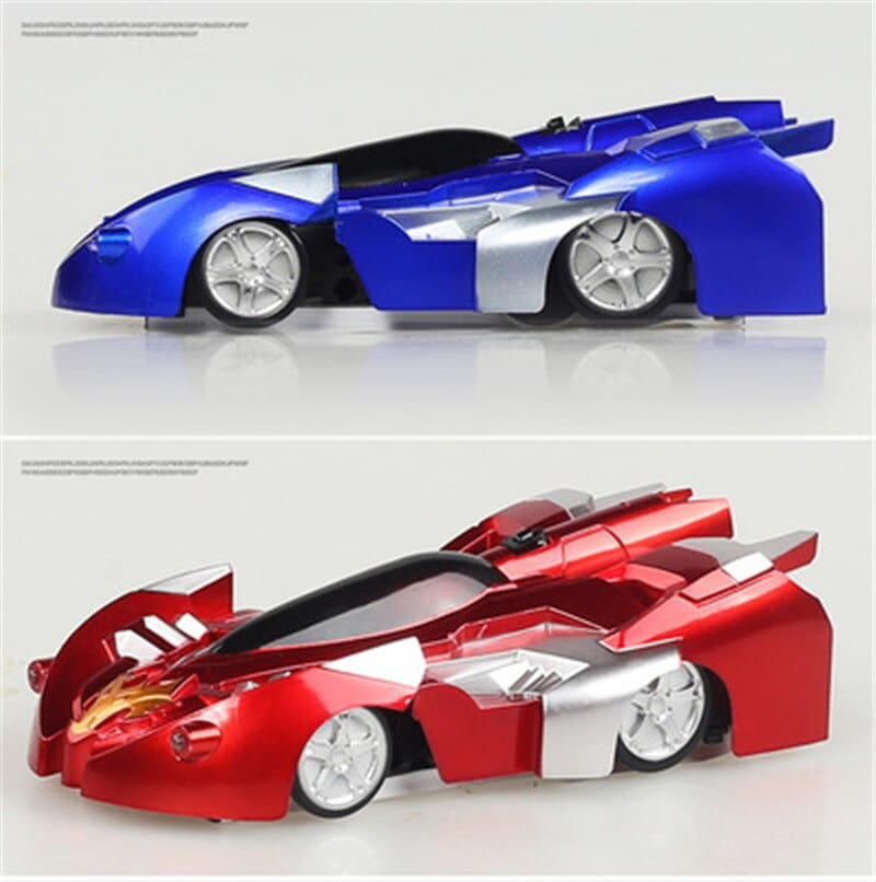 Oeak Antigravity Machine Wall Car Gift Remote Control Climbing Rc Car With Led Lights 360 Degree Rotating Stunt Toys
