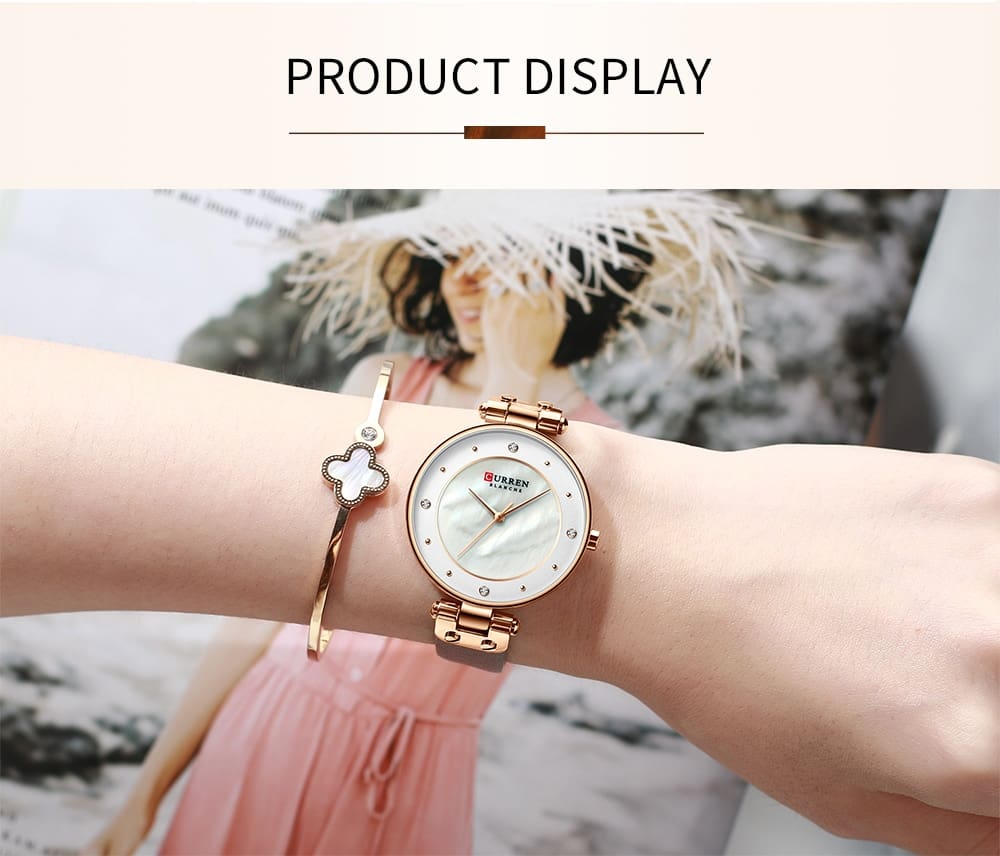 Curren Watch Women Top Brand Luxury Watches Quartz Waterproof Womens Wristwatch Ladies Girls Fashion Clock relogios feminino