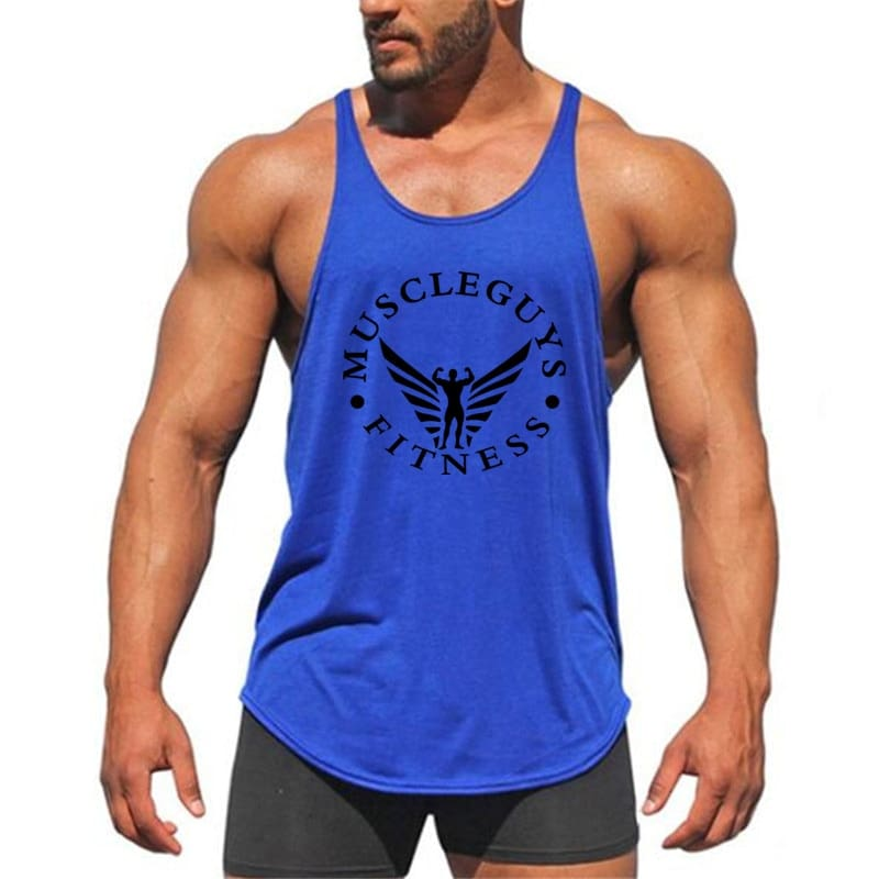 Fitness Clothing Bodybuilding Tank Top Men Gym