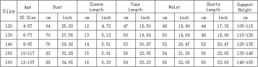Casual Active Boys Clothes Set Summer Girls Teenage T Shirt Shorts Children Suit 2019 Kids Outfits Sports Clothing For Boys 2Pcs (5)
