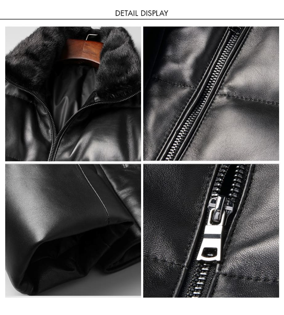 Fur Collar Casual Outerwear Solid Hip Hop Male Overcoats