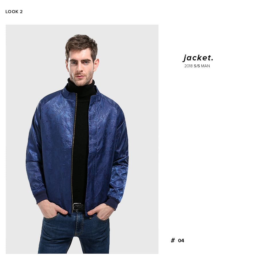 Outerwear Slim Handsome Business Social Male Jackets Coat