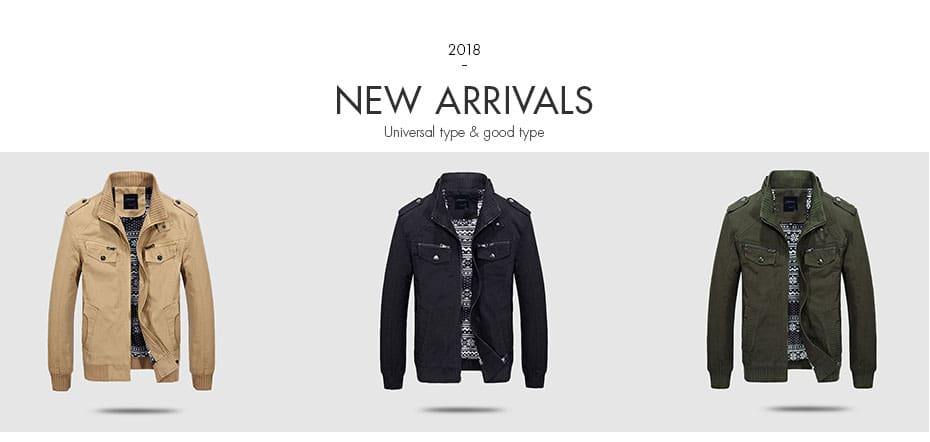 Youth Top Quality Male Tide Business Outwear Jacket Jaqueta