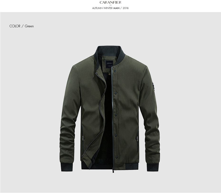 High Quality Army Motorcycle Business Slim Fit Windbreaker