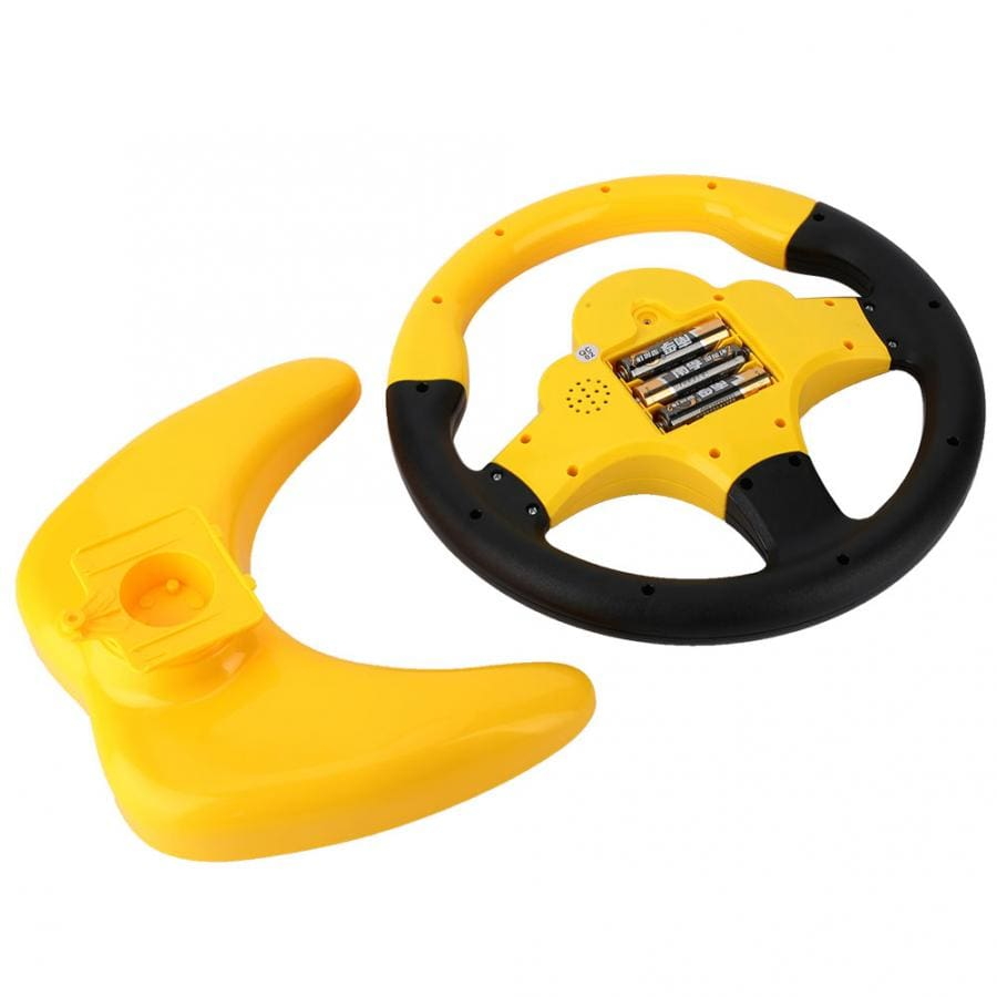 Simulation Steering Wheel with Light Baby Musical Developing Educational Toys Electronic Vocal Toys for Children Birthday