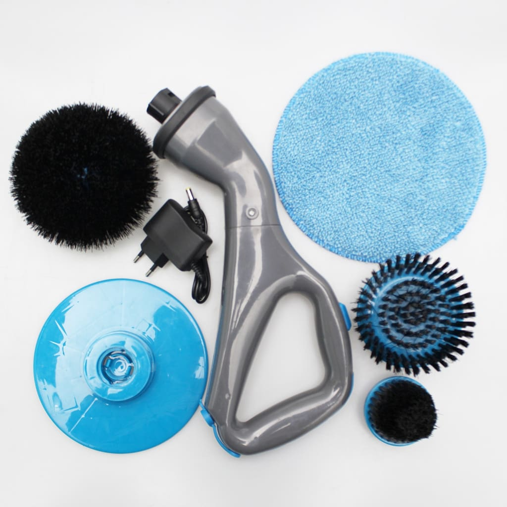 4pcs Cordless Hurricane Muscle Scrubber Electric Cleaning Brush