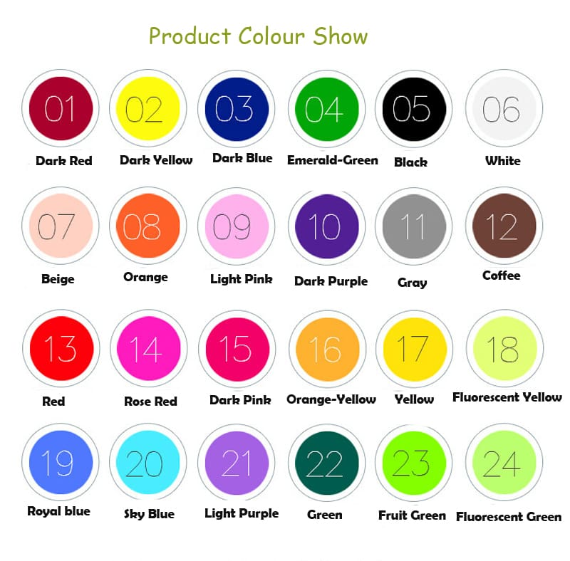 Many Colors Solid Baby Kids Toy Basic Learning Toddler Infant Child Developmental DIY Gift