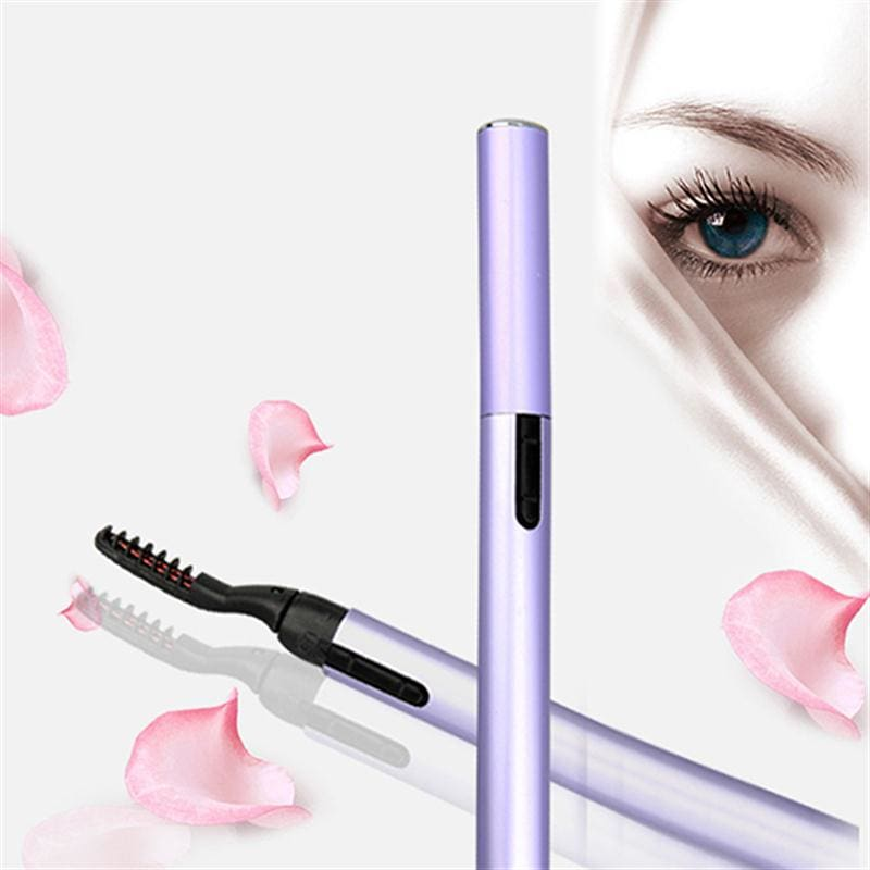 Electric Heated Eyelash Curler Pen Makeup Cosmetic Perfect Big Eyes Remover Clip Eyebrow Eye Lashes Tweezers