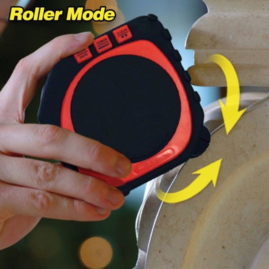 3-in-1 Measure King Digital Tape Sonic Mode/ Roller Mode Measure String