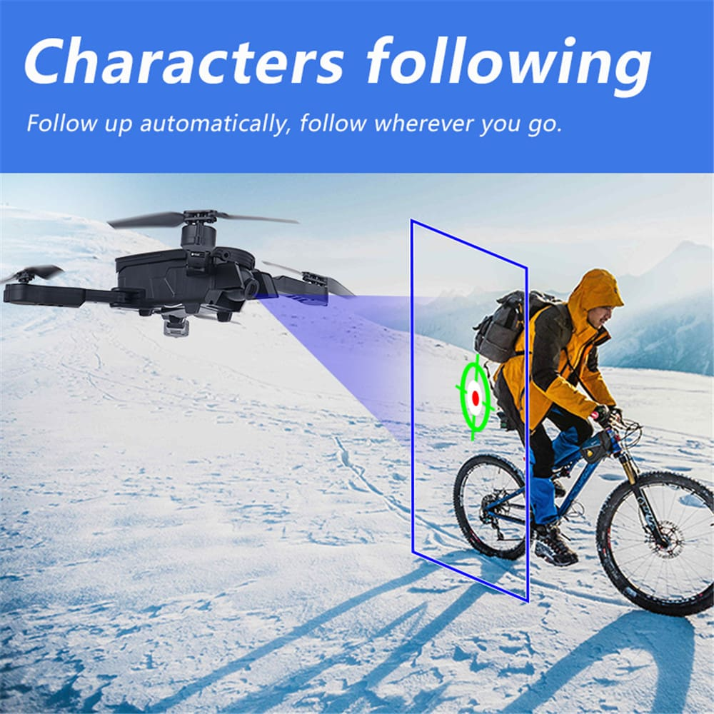 RC Helicopters 1808 remote control toy Camera HD 1080P Foldable WiFi FPV Wide Angle 2.4GHz ABS app photo headless mode 6 axes