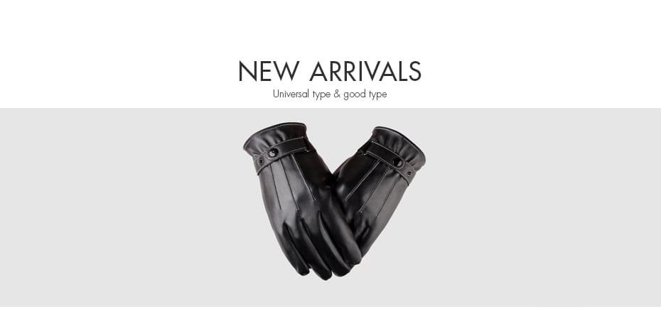 Velvet Padded Windproof Riding Motorcycle Gloves Student Touch Screen