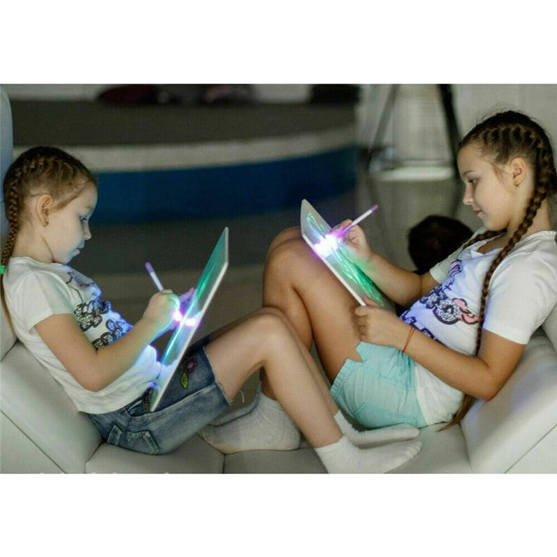 Glowing Paint Glow Light Tablet Draw With Light Fun