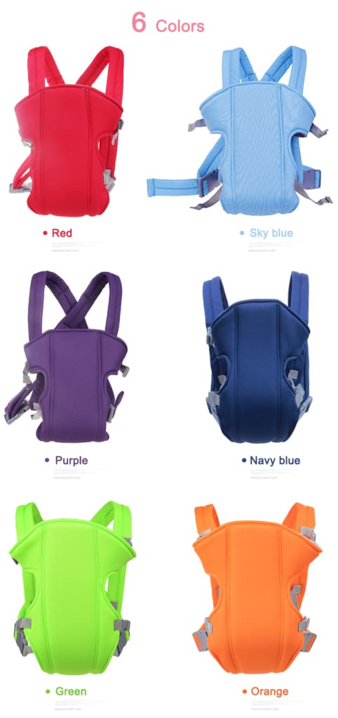 Baby Carrier 3-18 Months Infant Bebe Sling Breathable Fabric Baby Backpack Pouch Wrap Kangaroo Front Facing
