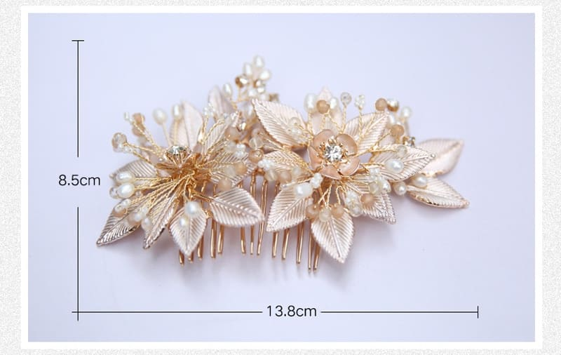 Bride Hair Jewelry Ornaments Headpiece