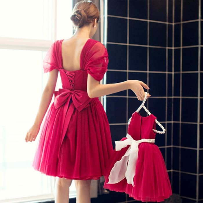 Mother Daughter Dresses Christmas Matching Dresses