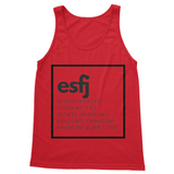 ESFJ Softstyle Tank Top-Apparel-kite.ly-[extravert t shirt]-[personalitee]-[mbti clothing]-Total Extrovert